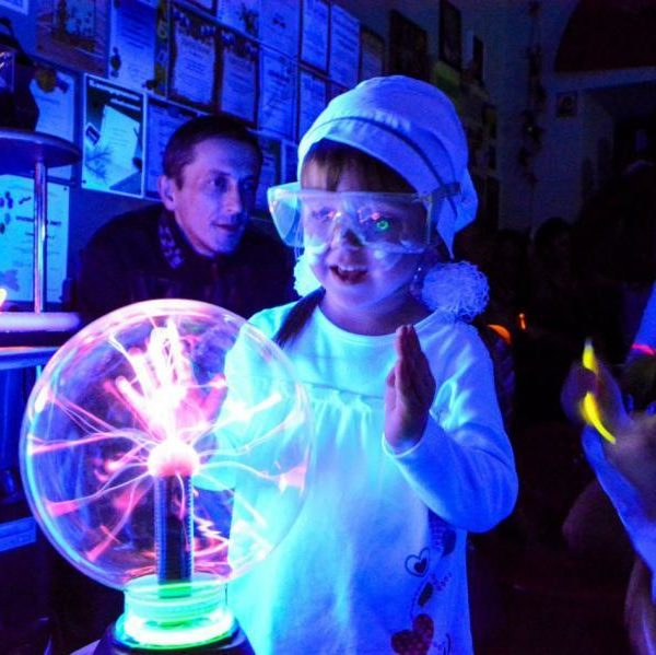 Gallery - React Science - Electric Ball
